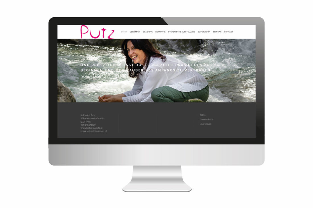 Projekte Katharina Putz - Website