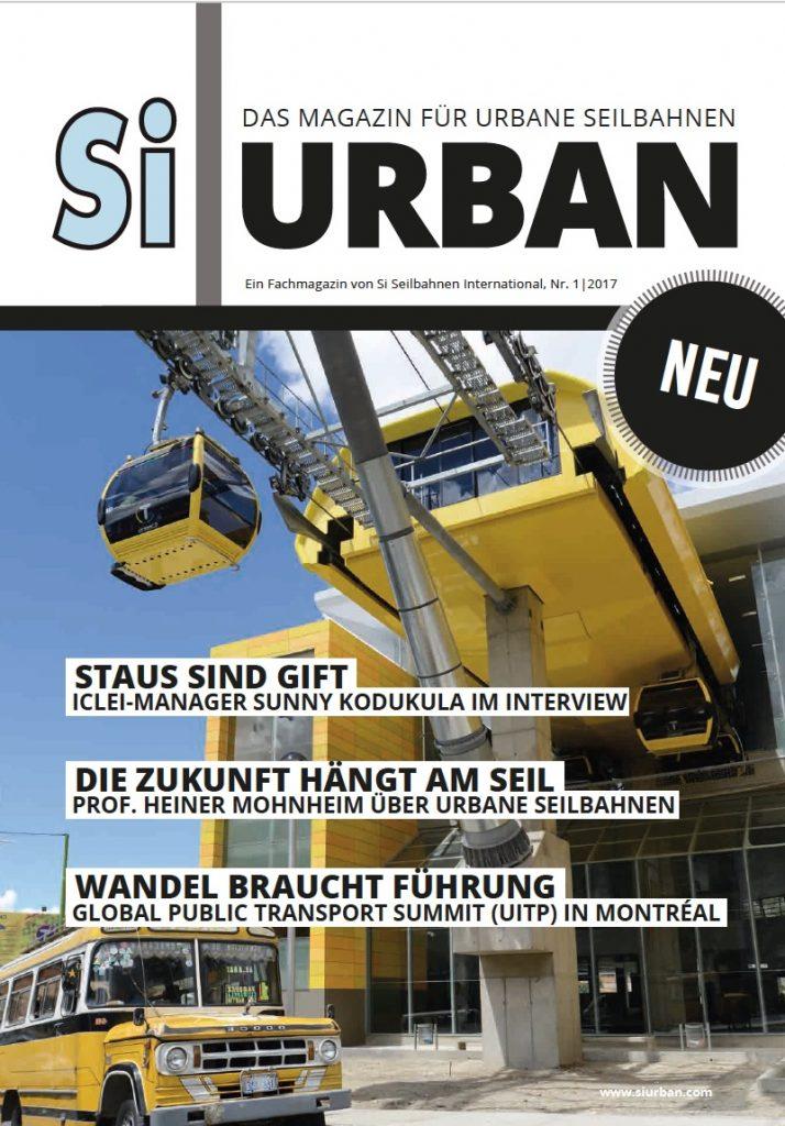 Projekte SI Urban – Magazin-Cover