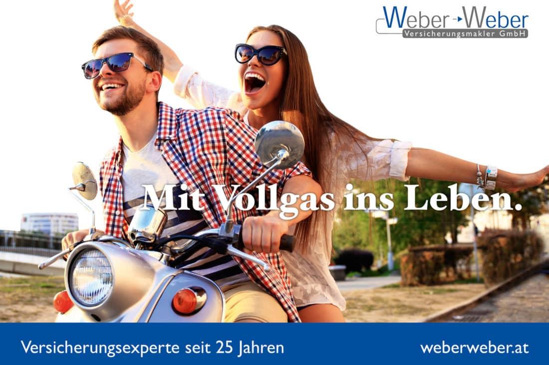 Projekte Weber - Inserat Jugend