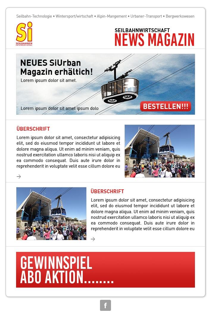 Projekte Seilbahnen International - Newsletter