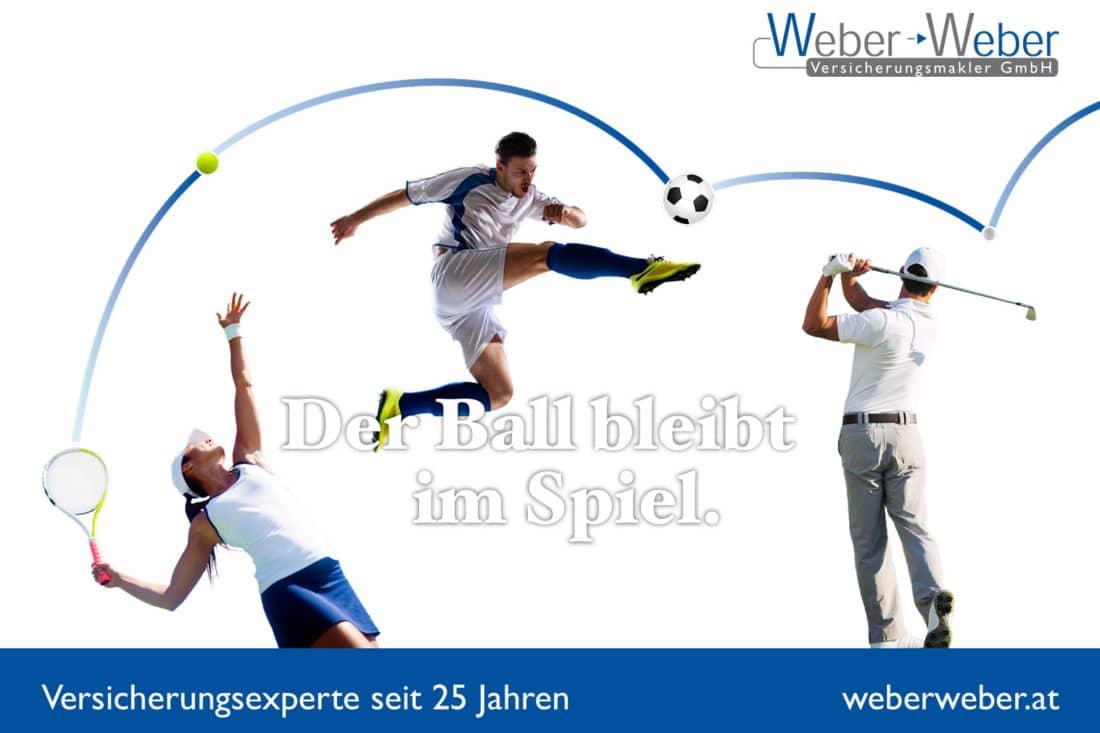 Projekte Weber - Inserat Sport