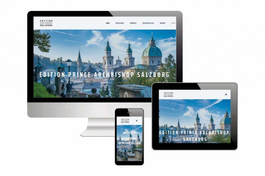 Projekte Edition Prince Archbishop - Website