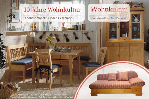 Projekte Wohnkultur Salzburg - Inserat