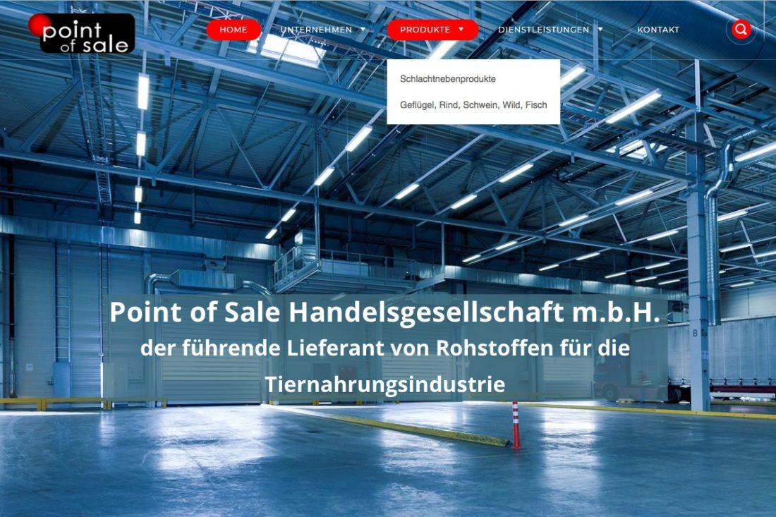 Projekte Point of Sale - Website