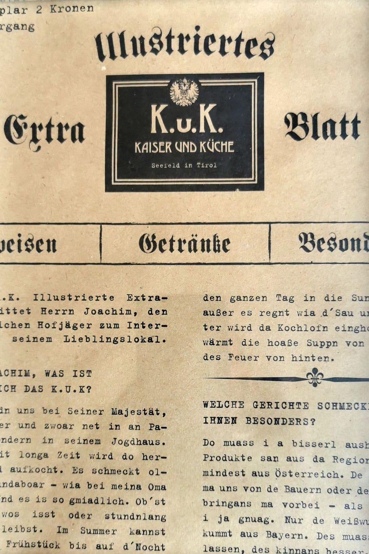 Projekte KuK - Extrablatt